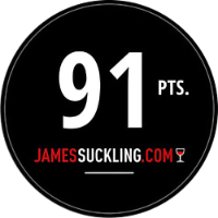 Medalla James Suckling 91 Pts