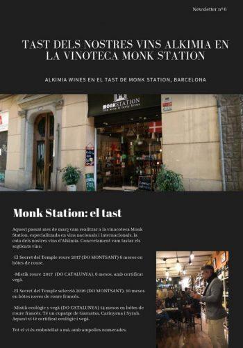 News 06 Cat 1 Monk Station :el tast