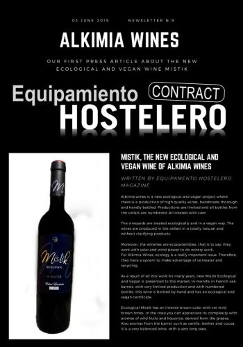 News 09 Eng Mistik Ecologic The New Ecological and Vegan Wine