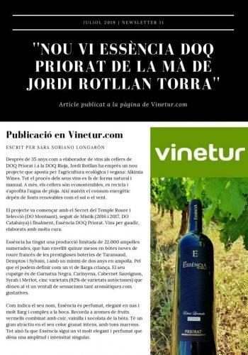 Vinetur -News 11 Cat