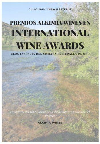 News 12 Cast 1 Premios ALKIMIA WINES EN INTERNATIONAL WINE AWARDS