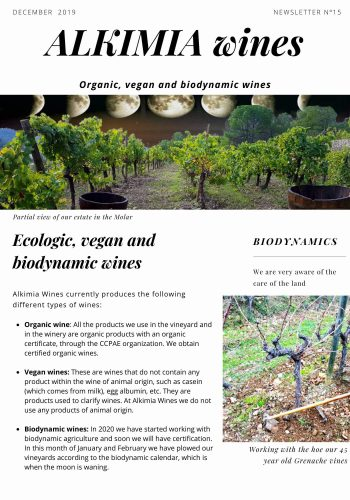 News 15-1 ENG Ecologic vegan and biodynamic wines