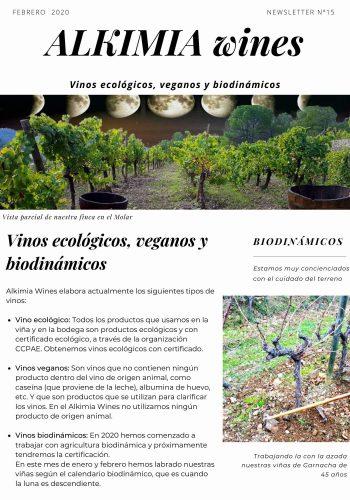 News 15-1 ESP Vinos ecologicos veganos y biodinamicos