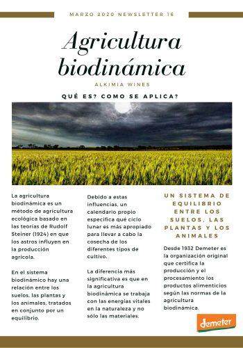 News 16-1 CAST Agricultura biodinamica