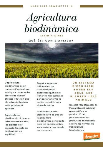 News 16-1 CAT Agricultura biodinamica