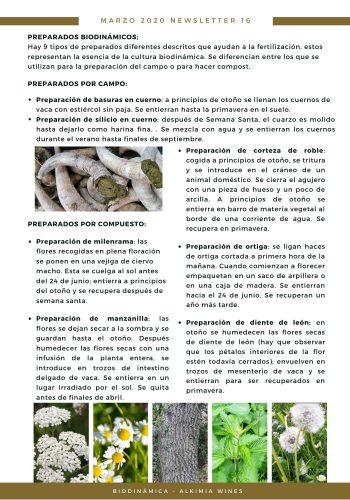 News 16-2 CAST preparados biodinamicos