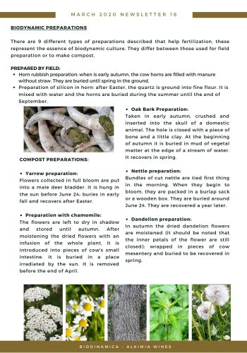 News 16-2 ENG News 16-2 ENG Biodynamics preparations