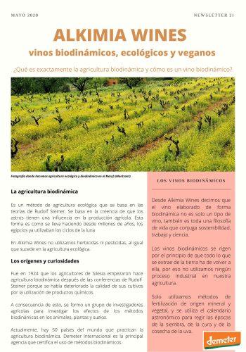 News 21-1 CAST la agricultura biodinamica
