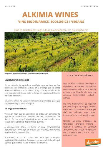 News 21-1 CAT l'agricultura biodinamica