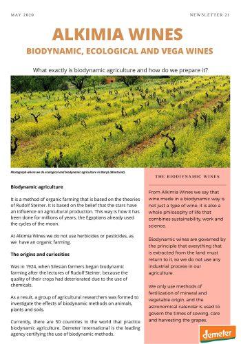News 21-1 ENG Biodynamic agriculture