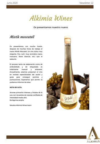 News 22 Moscatell CAST NOTA DE CATA