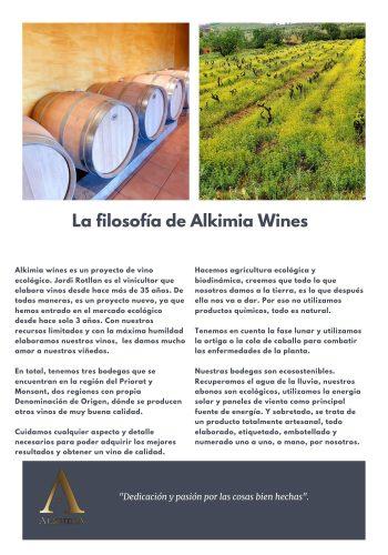 News 26-2 CAST la filosofia de Alkimia Wines