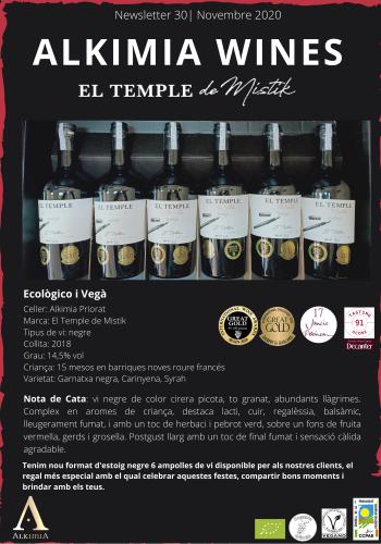 Newsletter 30 CAT El temple de mistik