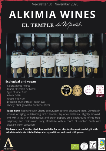 Newsletter 30 ENG El temple de Mistik